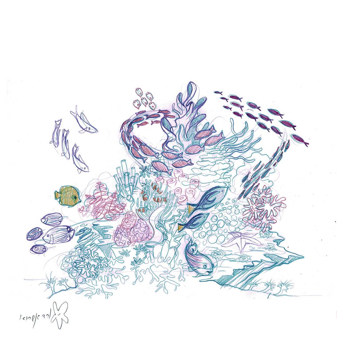 שונית האלמוגים -2