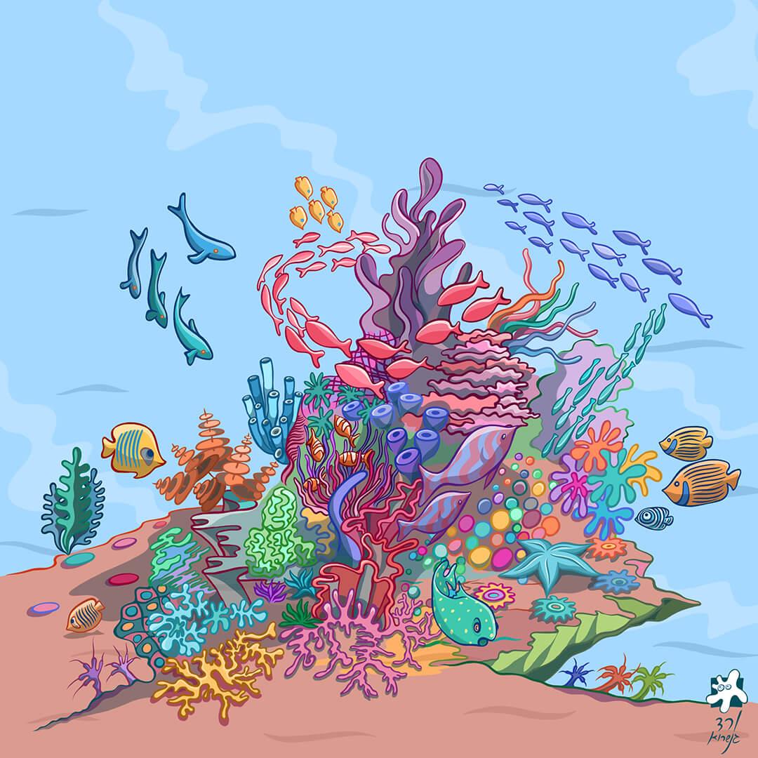 שונית האלמוגים -8