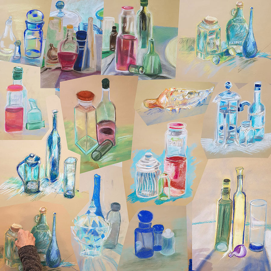 Collage-Course-By-Vered_Chalks-Bottles